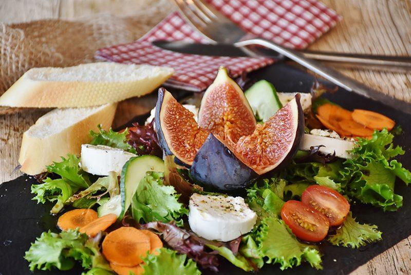 Restaurant level salad